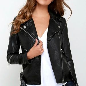 NEW BLANKNYC vegan leather jacket